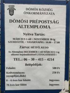 domos-prepostsag-alteplom-nyitvatartas