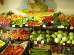 Zöldséges üzlet
