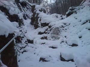 Rám - szakadék képekben, télen