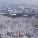Prédikálószék- kilátó télen, képekben